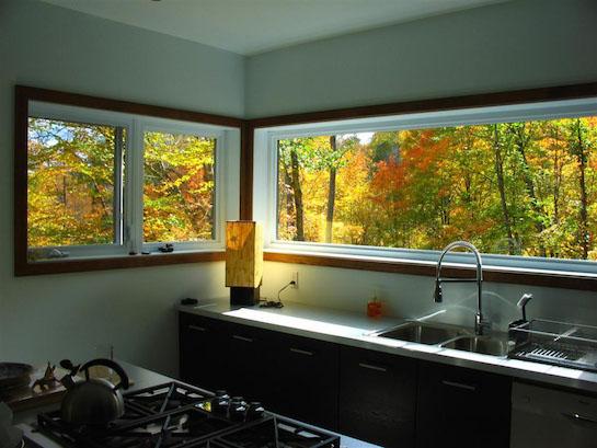 окна кухня