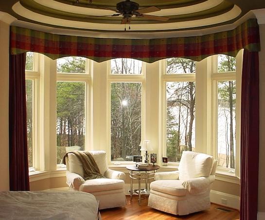 окна полукругом