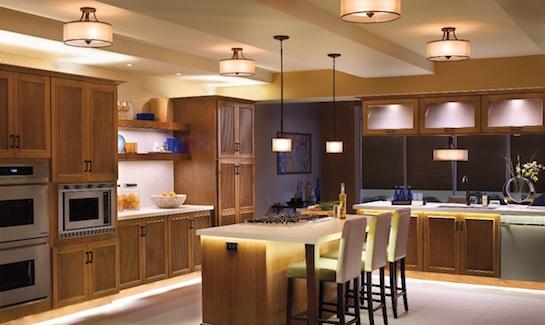 освещение кухня