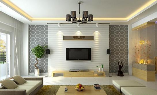 дизайн проект гостиная