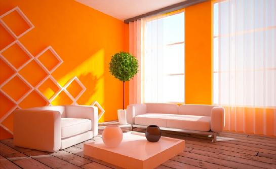 апельсиновая гостиная