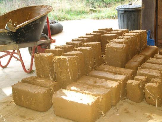 соломенные блоки
