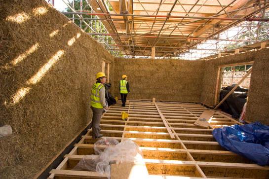 строительство внутри дома