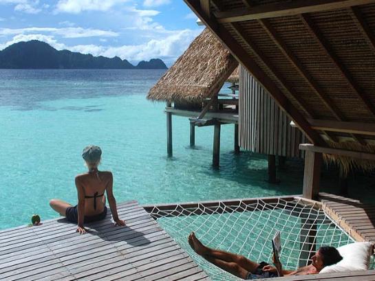отдых над водой